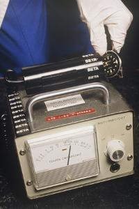 Geiger Counter, for Detecting Radioactivity by David Parker