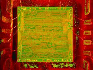 Integrated Microchip by David Parker