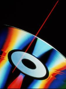 Laser Videodisc with Simulated Laser Beam by David Parker