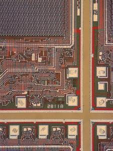 LM of a Wafer of Integrated Circuits by David Parker