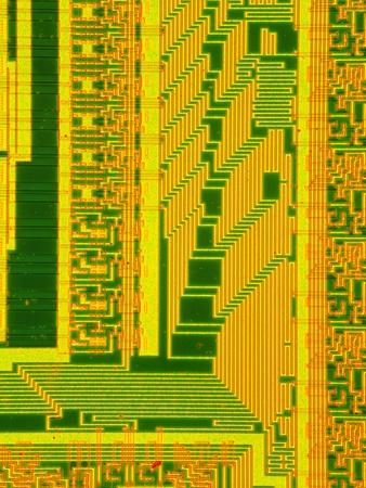 LM of Part of the Surface of a Silicon Chip