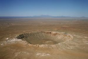 Meteor Crater, Arizona by David Parker