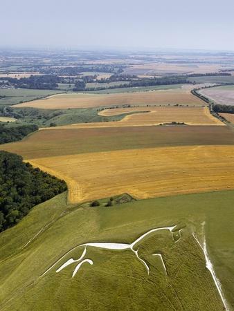 Uffington White Horse, Oxfordshire, UK