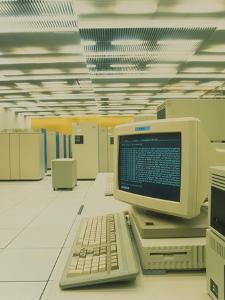 World Wide Web Main Server At CERN, Geneva by David Parker