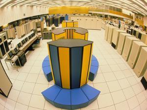 Xray X-MP-48 Supercomputer At CERN by David Parker