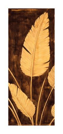Tropical Palm Triptych II
