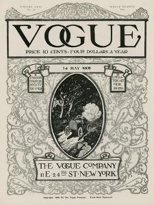Vogue Cover - May 1908 by David Peirson