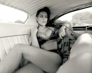 Pin-Up Girl: Back Seat Bikini by David Perry