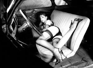 Pin-Up Girl: Deuce Coupe Front Seat by David Perry