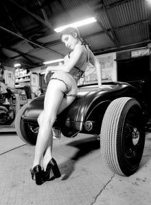 Pin-Up Girl: Deuce High Boy by David Perry