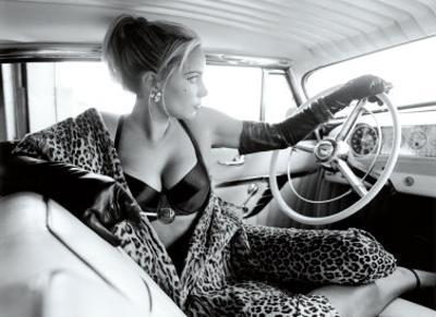 Pin-Up Girl: Hot Rod Leopard