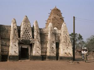 Larabanga Mosque, Reputedly the Oldest Building in Ghana, Ghana, West Africa, Africa by David Poole
