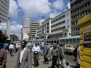 Moi Avenue, Nairobi, Kenya, East Africa, Africa by David Poole