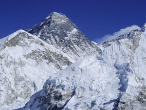 Mount Everest from Kala Pata, Himalayas, Nepal, Asia by David Poole