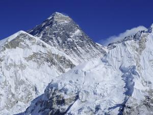 Mount Everest from Kala Pata, Himalayas, Nepal, Asia by David Poole