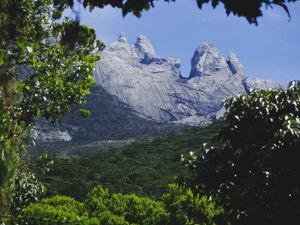 Mount Kinabalu, Sabah, Island of Borneo, Malaysia, Asia by David Poole
