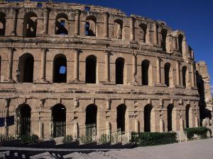 Roman Amphitheatre, El Djem, Unesco World Heritage Site, Tunisia, North Africa, Africa by David Poole
