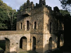The Pavilion of Delight Built for King Fasilidas, Gondar, Ethiopia, Africa by David Poole