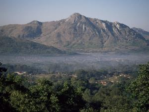 View Across the Zomba Plateau, Malawi, Africa by David Poole
