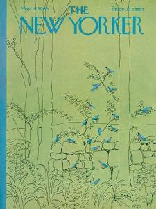 The New Yorker Cover - May 14, 1966 by David Preston