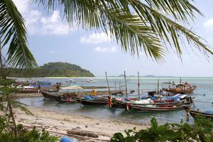 Fishing Boat in the Gulf of Thailand on the Island of Ko Samui, Thailand by David R^ Frazier