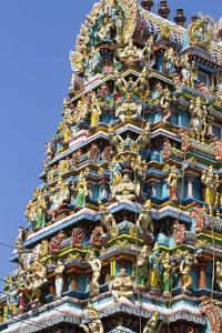 Hindu Temple in (Rangoon) Yangon, (Burma) Myanmar by David R^ Frazier