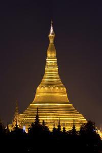 The Shwedagon Pagoda in (Rangoon) Yangon, (Burma) Myanmar by David R^ Frazier