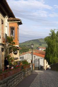 Walking Street in the Village of Santillana Del Mar, Cantabria, Spain by David R^ Frazier