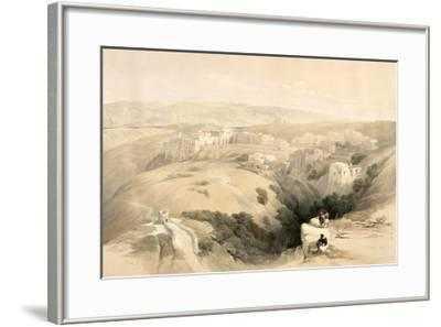 Bethlehem, April 6th 1839, Plate 85 from Volume II of The Holy Land, Engraved by Louis Haghe