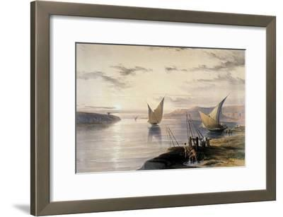 Boats on the Nile, C1838-1839