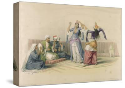 Dancing Girls at Cairo, from 'Egypt and Nubia', engraved by Louis Haghe