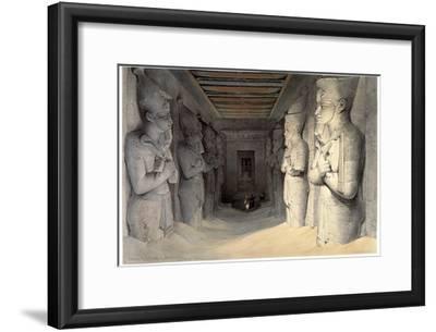 Giant Limestone Statues of Rameses Ii, Temple of Rameses, Abu Simbel, Egypt, 1836