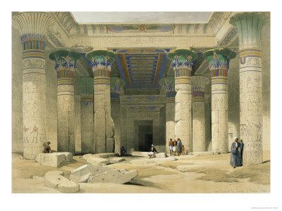 Grand Portico of the Temple of Philae, Nubia