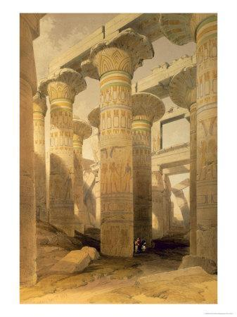 Hall of Columns, Karnak, from Egypt and Nubia, Vol.1