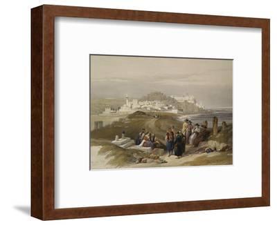 Jaffa, Ancient Joppa. from 'The Holy Land, Syria, Idumea, Arabia, Egypt and Nubia'
