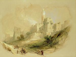 Jerusalem and the Tower of David by David Roberts