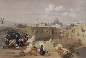 Lithograph from 'The Holy Land, Syria, Idumea, Arabia, Egypt and Nubia' by David Roberts