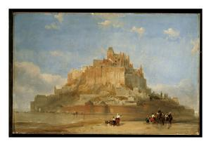 Mont St. Michel from the Sands, 1848 by David Roberts