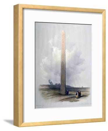 Obelisk of Heliopolis, 1839