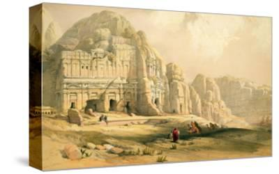 Petra, March 8th 1839, Plate 96 from Volume Iii of 'The Holy Land', Engraved by Louis Haghe