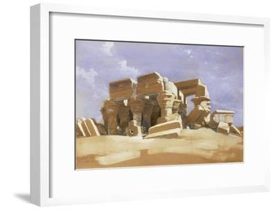 Temple of Kom Ombo, Upper Egypt, 1838