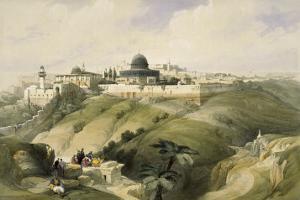 The Church of Purification, Jerusalem by David Roberts