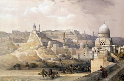 "The Citadel of Cairo, from ""Egypt and Nubia,"" Vol.3 by David Roberts"