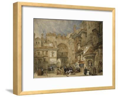 The Gate of the Viva Rambla, Granada, 1834