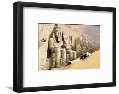 "The Great Temple of Abu Simbel, Nubia, from ""Egypt and Nubia,"" Vol.1"