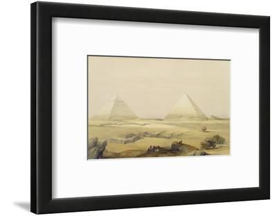 """The Pyramids of Giza, from """"Egypt and Nubia"""", Vol.1"""