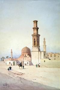 Tomb of the Califes, Cairo, C1907 by David Roberts