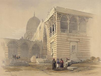 Tomb of the Khalifs by David Roberts