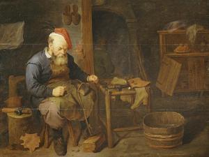 A Cobbler by David Rychaert