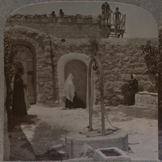 'David's well on the outskirts of Bethlehem', c1900-Unknown-Photographic Print